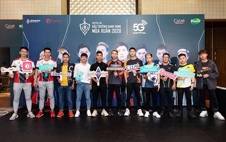 Lịch thi đấu chính thức vòng bảng giải đấu VIETTEL 5G ĐẤU TRƯỜNG DANH VỌNG MÙA XUÂN 2020
