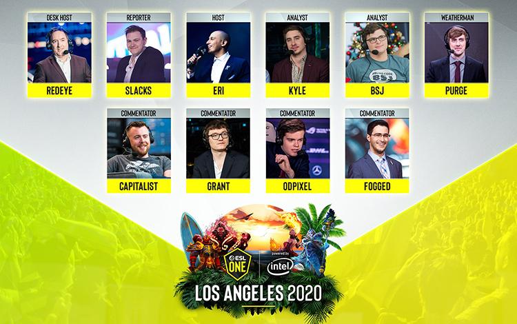 Los Angeles Major và Tug of War: Mad Moon công bố dàn talent: Bộ 3 cân giải