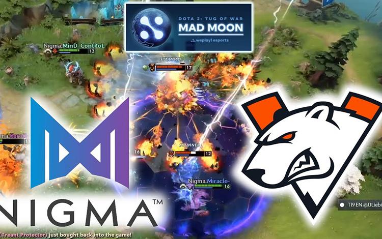 Chung kết nhánh thua Tug of War: Mad Moon: VP vs Nigma - Sức trẻ đấu kinh nghiệm