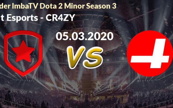 Bảng B Kiev Minor: Gambit vs CR4ZY - Người tám lạng, kẻ nửa cân