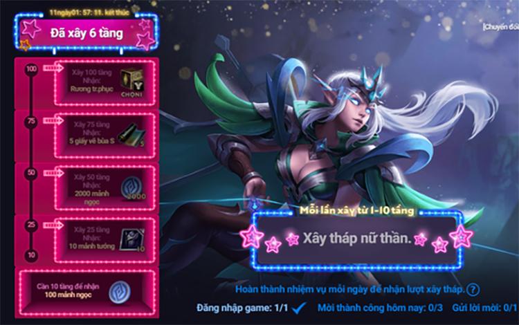 Event tương tác mới của Garena khiến sự tương tác của các game thủ tăng đột biến