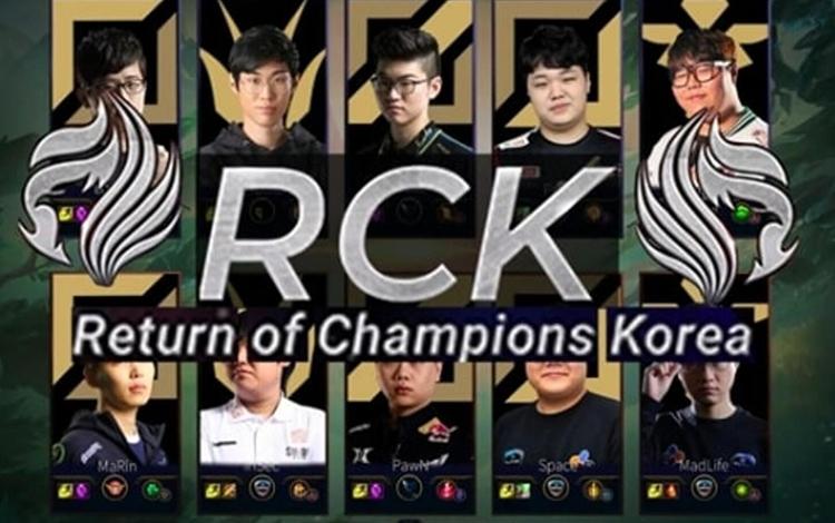Marin, Wolf, Madlife,... cùng nhiều tên tuổi kì cựu sẽ được Riot Hàn Quốc vinh danh trong trận Showmatch huyền thoại