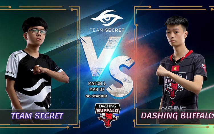 VCS Mùa Xuân 2020 lượt về - Team Secret vs DBL: Đừng coi thường kẻ cùng đường