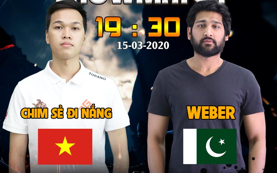 Chim Sẻ Đi Nắng vs Weber: Bài toán khó dành cho game thủ số 1 AoE Việt Nam
