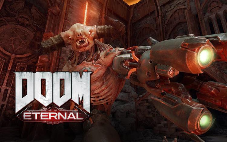 """Bethesda công bố cấu hình chiến Doom Eternal cực """"sát phần cứng"""""""