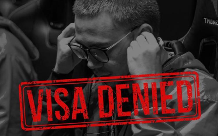 Nhà vô địch SEA Games 30 phải ở nhà xem Major vì bị từ chối Visa