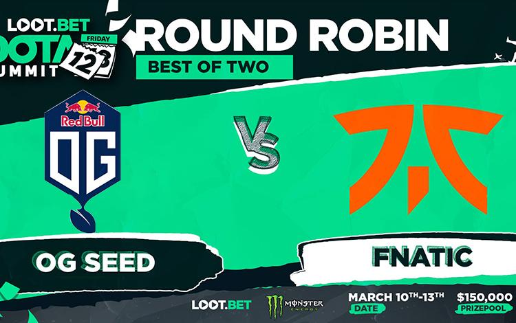 """Vòng bảng The Summit 12: OG.Seed vs Fnatic - Những """"chồi non"""" tiếp đà thăng hoa?"""
