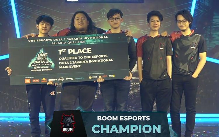BOOM Esports trở thành đội tuyển thứ 2 có mặt tại ONE Esports Dota 2 Indonesia Invitational