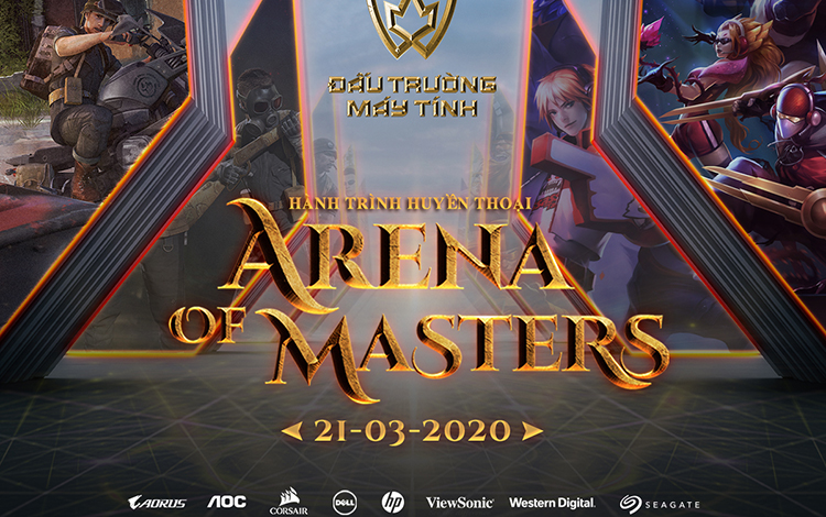 Arena of Masters 2020: Hành Trình Huyền Thoại chính thức khởi động vòng loại