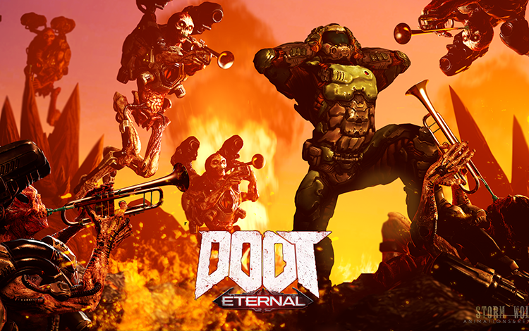 Doom Eternal lọt vào top 10 tựa game thịnh hành trên Steam