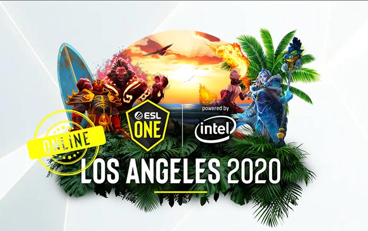 ESL One Los Angeles sẽ trở lại với thể thức thi đấu Online giữa các khu vực