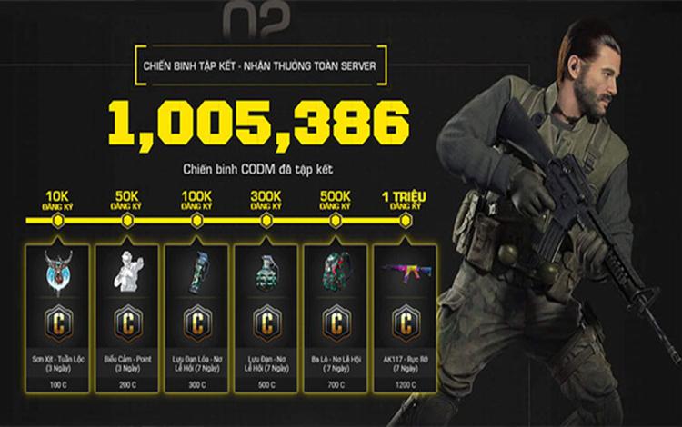 Hơn 1 triệu game thủ đã sẵn sàng chờ ngày Call of Duty: Mobile Việt Nam ra mắt