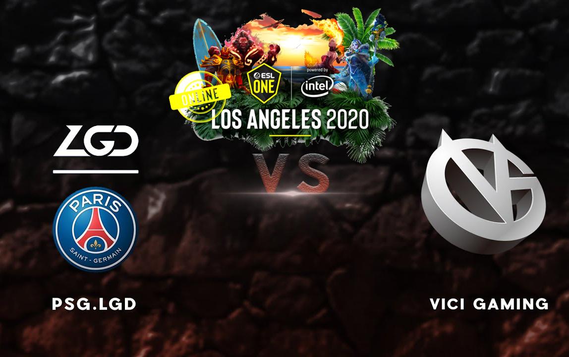 ESL One Los Angeles: PSG.LGD vs Vici Gaming - Ngôi vị số 1 thuộc về ai
