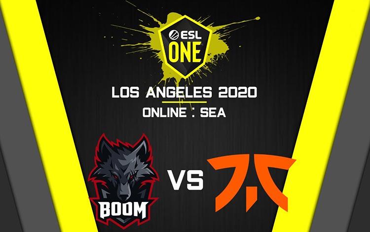 ESL One Los Angeles: Fnatic vs Boom ID - Đẳng cấp của đội tuyển số 1 khu vực