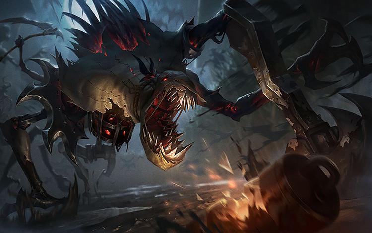 """Fiddlesticks phiên bản """"kinh hoàng"""" xuất hiện, Riot Games muốn doạ game thủ giữa đại dịch COVID-19?"""