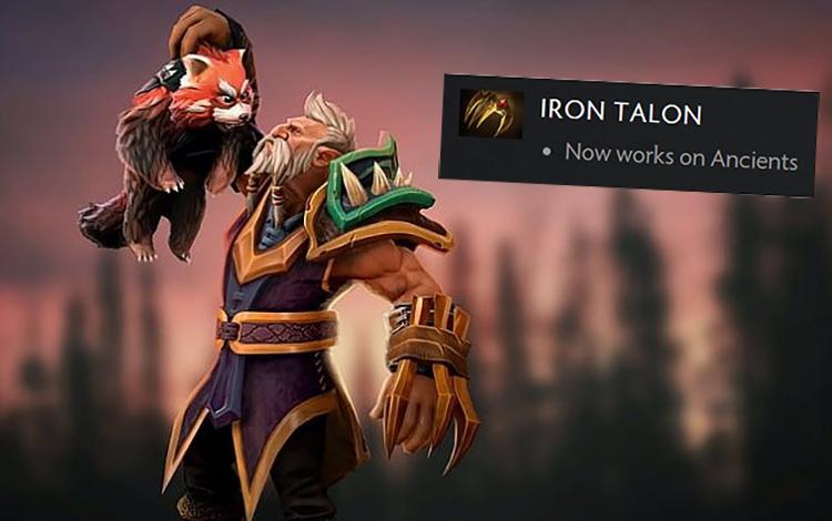Bug: Gây 2.000 Damage lên Spirit Bear chỉ với Iron Talon???