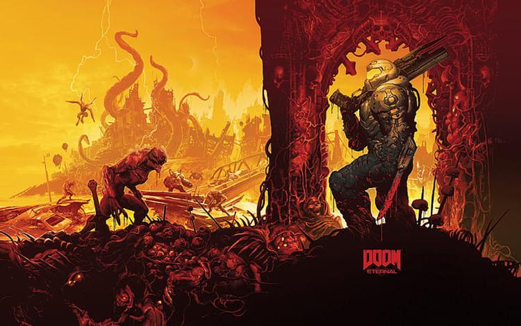 Doom Eternal công phá thị trường game với 700.000 bản ngay trong tuần trăng mật