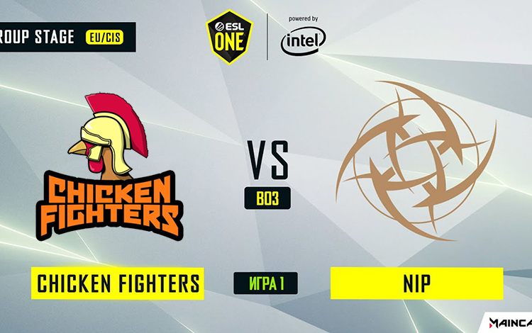 ESL One Los Angeles: NiP vs Chicken Fighter - Ppd trong nỗi nhớ Universe