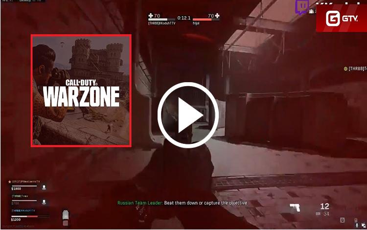 Những pha xử lý thần thánh của các game thủ trong Call of Duty: Warzone