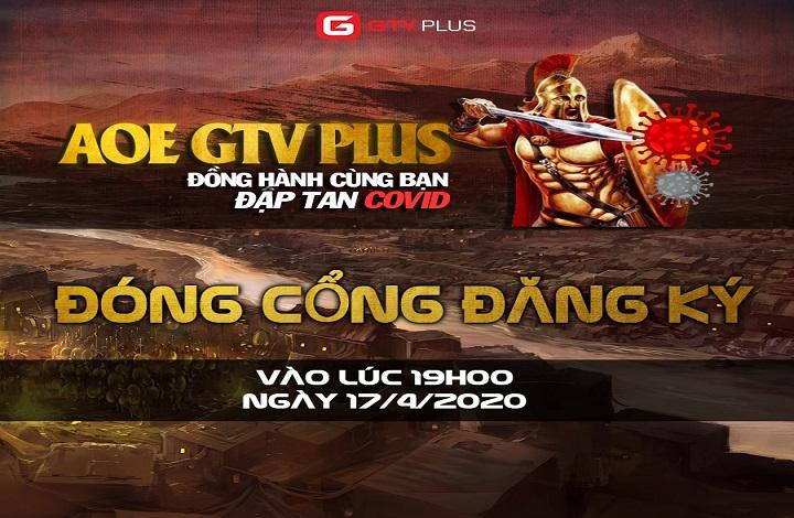 """GTV Plus: Đóng cổng đăng ký và bắt đầu thi đấu giải đấu """"Đồng hành cùng bạn đập tan Covid"""""""