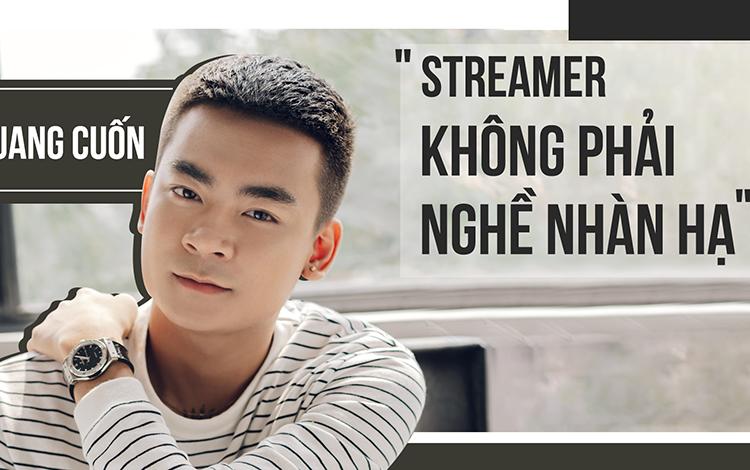 """Quang Cuốn trải lòng trong Talkshow đầu tiên: """"Cuộc sống không giống cuộc đời"""""""