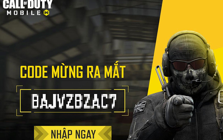 Call of Duty: Mobile VN tặng game thủ code VIP