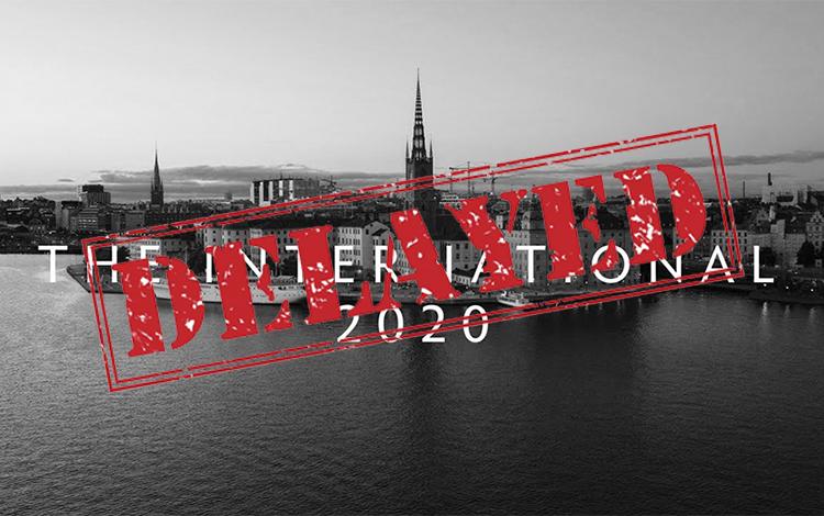 Chính thức: The International 10 bị hoãn tới năm 2021