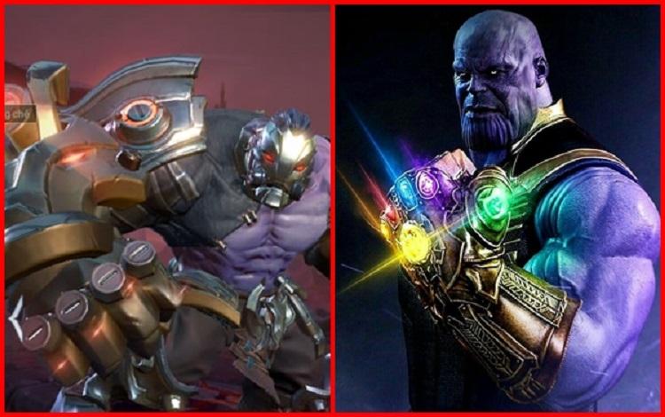 Skun được thay áo mới, Thanos của Liên Quân Mobile xuất hiện?
