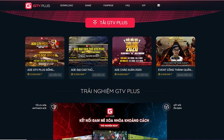 GTV Plus chính thức ra mắt giao diện mới, bước đột phá mang game thủ lại gần với nhau