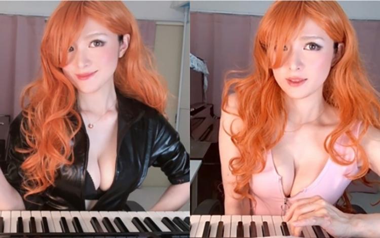 Thay đồ liên tục trong lúc chơi piano, nữ Streamer khiến người xem bàng hoàng về vòng 1