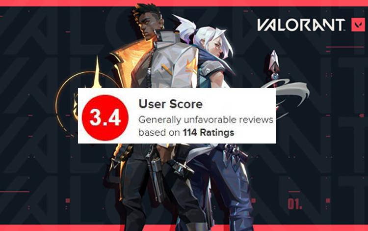 Valorant thất bại trong ngày ra mắt, hứng chịu gạch đá từ cộng đồng game thủ