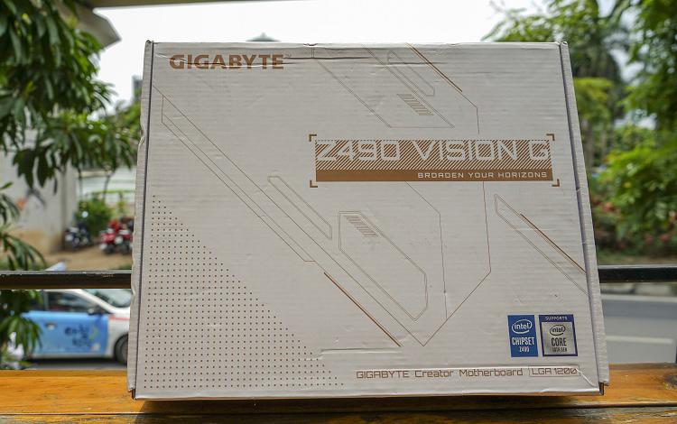 Trên tay Gigabyte Z490 Vision G: Bo mạch chủ dành cho người sáng tạo nội dung nhưng lại cực hợp với game thủ