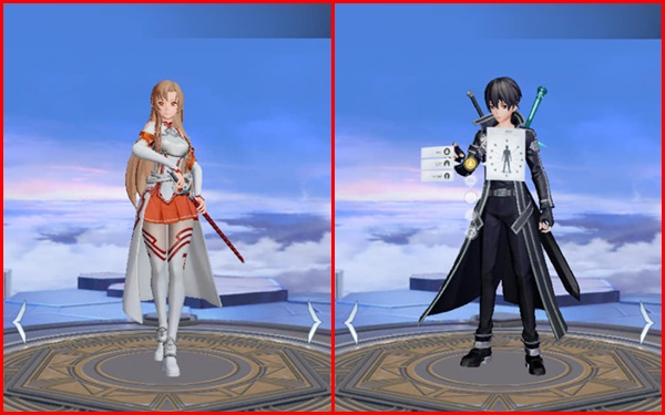 Event tặng Free skin Kirito và Asuna, hãy cẩn thận nếu như bạn không muốn rước bực vào người