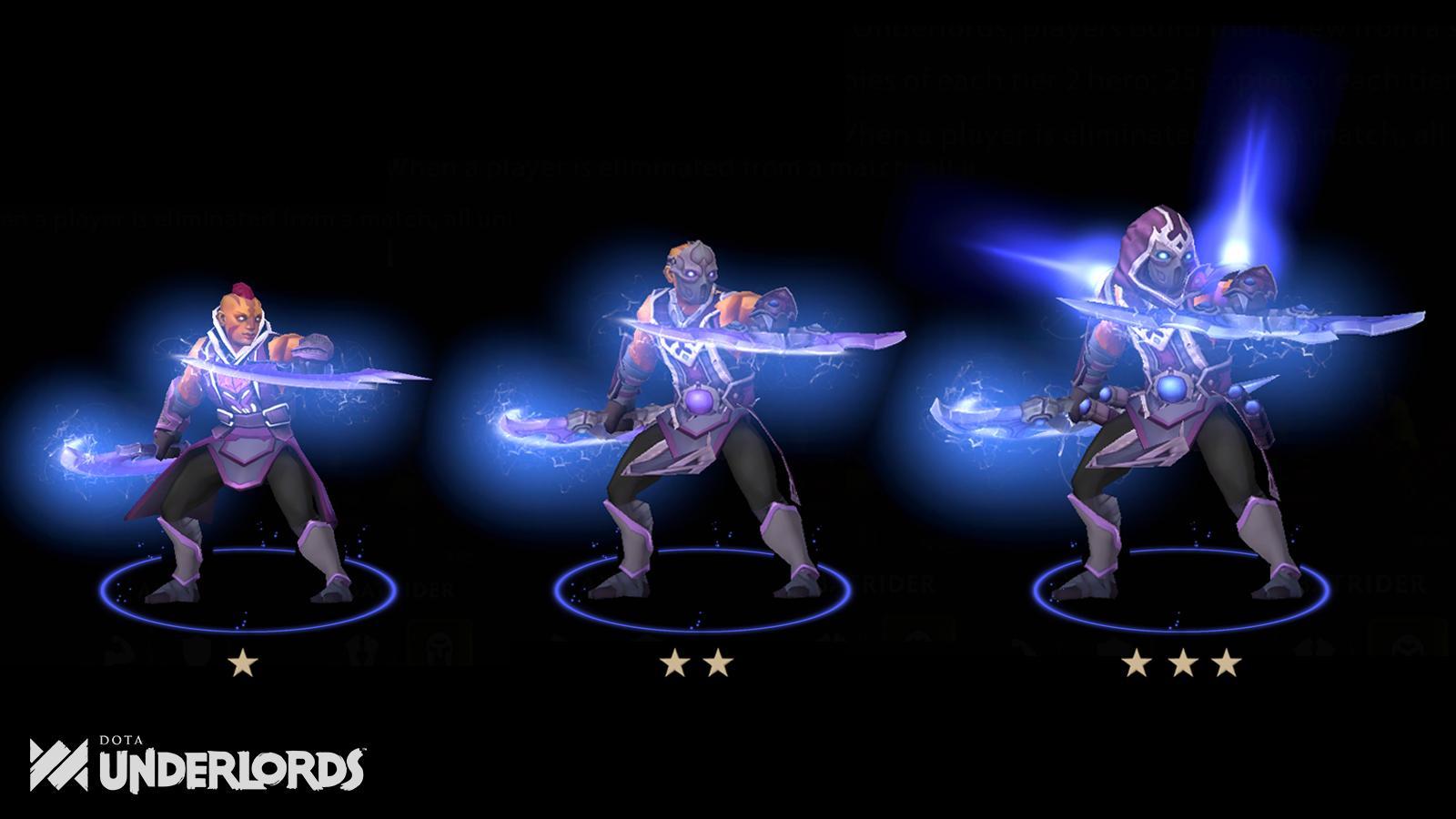 [Underlords] Những hero sẽ được khoác lên những trang phục mới khi được nâng cấp vào bản update tới