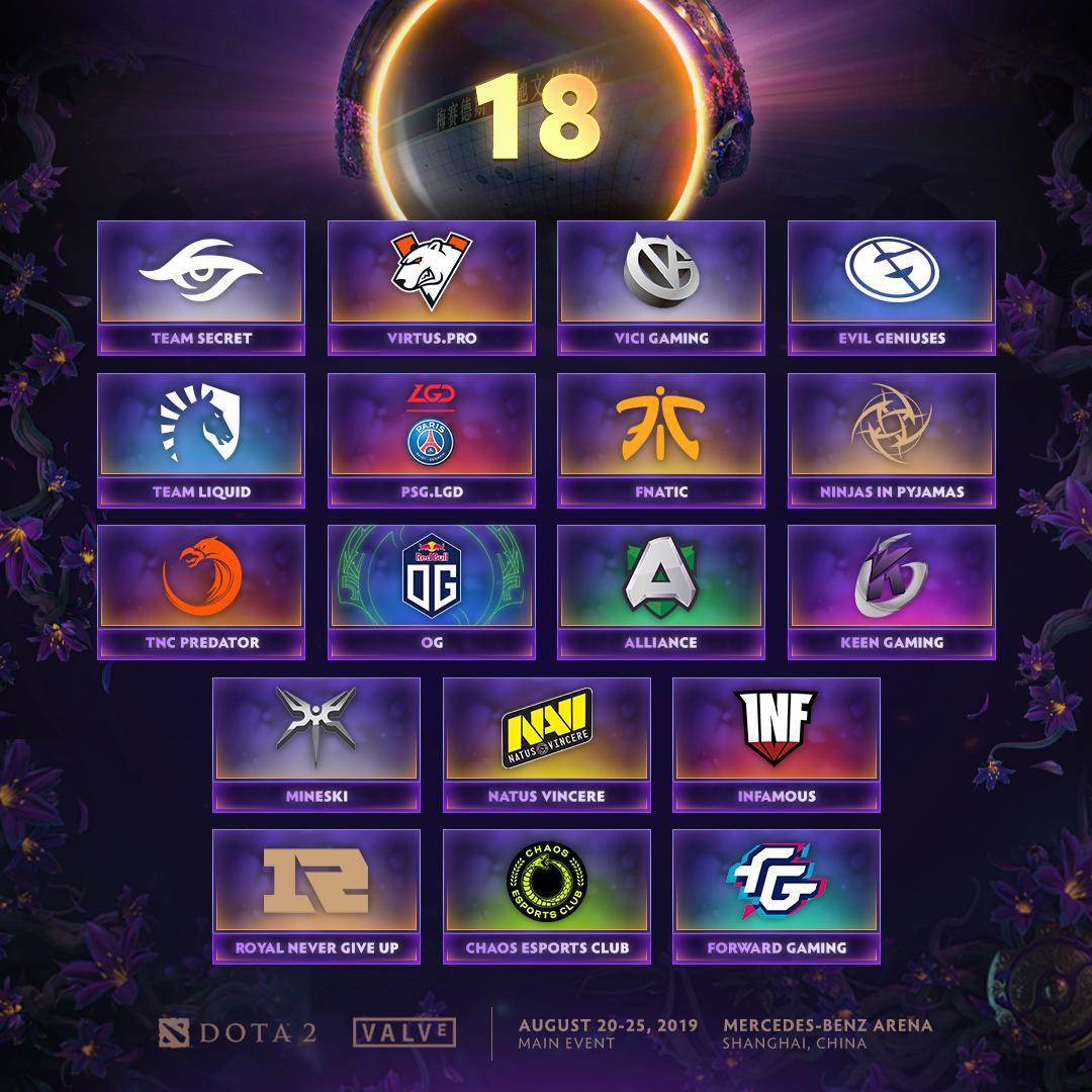 """[DOTA 2] Đội Dota 2 """"Hoàng gia"""" Trung Quốc cùng Matumbaman và Forward Gaming sẽ đến Thượng Hải vào tháng 8"""