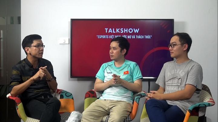 Talkshow: Esports Việt Nam, ước mơ và thách thức