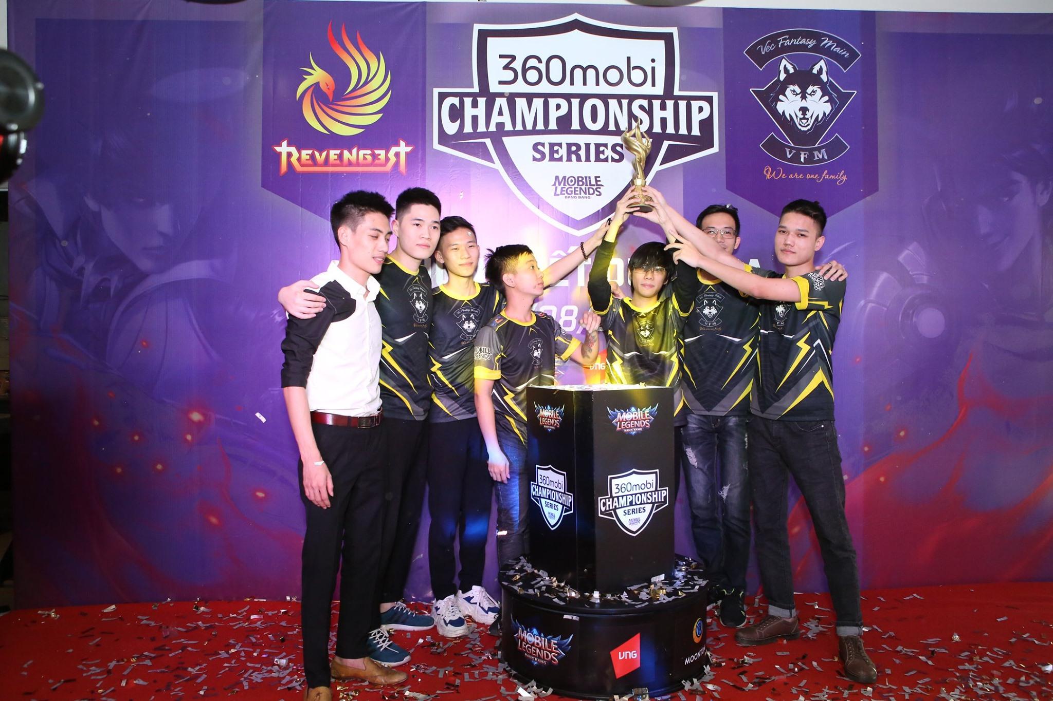 [Mobile Legends] Lên ngôi 360mobi Championship Series mùa 3, VFM trở thành đại diện Việt Nam tham dự Seagames 30