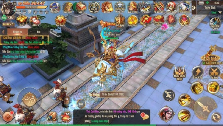 Ma Đạo Tây Du Mobile tung phiên bản mới giúp người chơi đạt cấp 80 ngay khi vào game