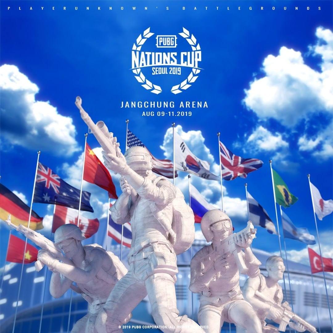 [PUBG] Lịch thi đấu PUBG Nations Cup 2019.