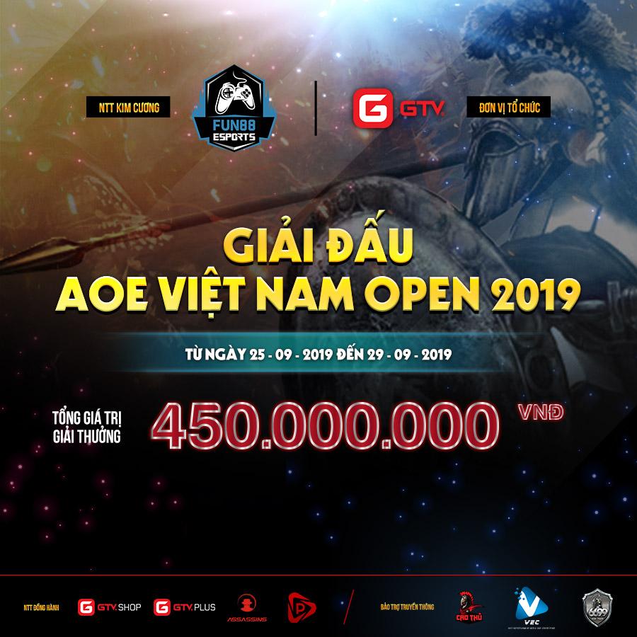 Cập nhật kết quả và hình ảnh ngày thi đấu đầu thứ 3 giải đấu AoE Việt Nam Open Ngày 27-9