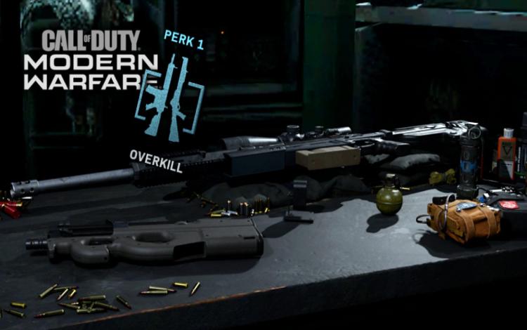 Overkill và 5 bộ trang bị mạnh nhất Modern Warfare