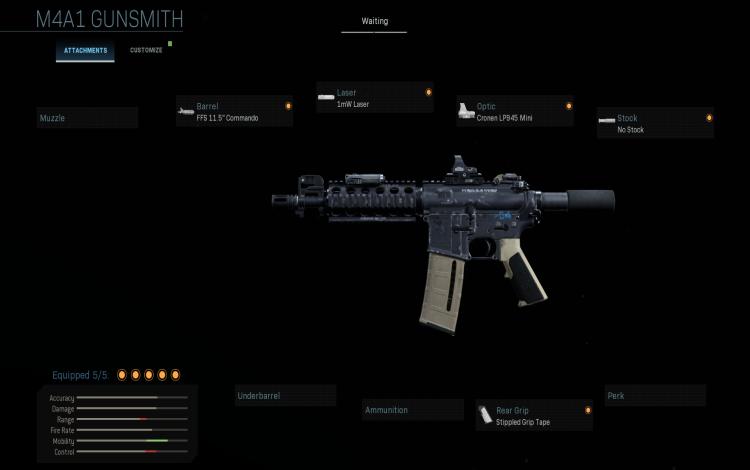 """Bộ trang bị M4A1 """"vừa bắn vừa chạy"""" tốt nhất:"""