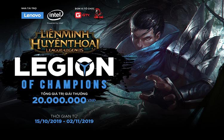 Công bố giải đấu LMHT LEGION OF CHAMPIONS