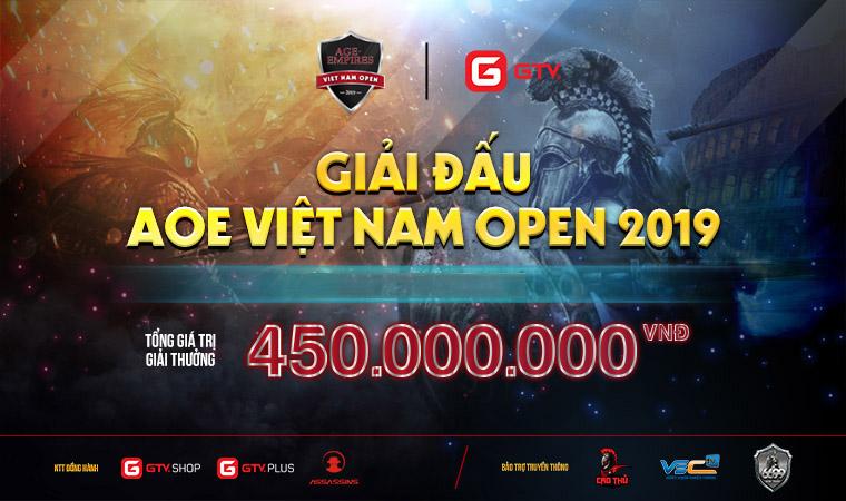 Tường thuật trực tiếp giải đấu AoE Việt Nam Open 2019 ngày thi đấu 9/11