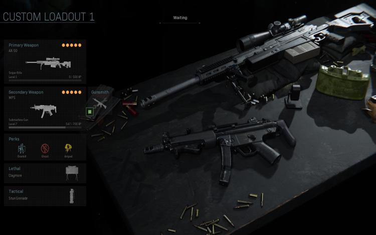 Súng trường bắn tỉa AX-50 và tiểu liên MP5: