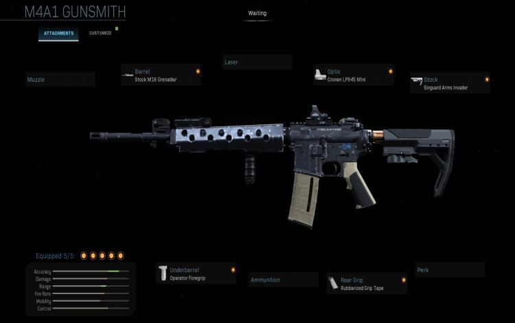 """Khẩu súng M4 phiên bản """"đánh giải"""""""