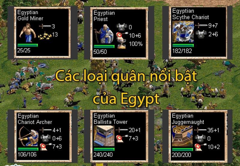Egyptian, một đế chế khá mạnh trong Deathmatch