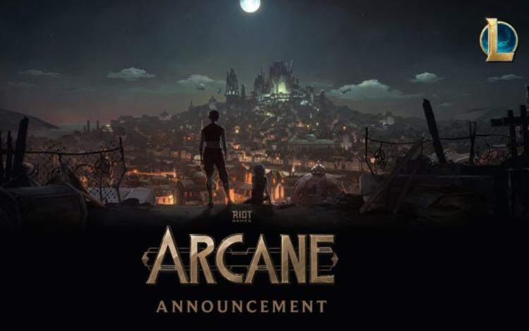 Riot Games chuẩn bị cho ra mắt series film hoạt hình mang tên Arcane