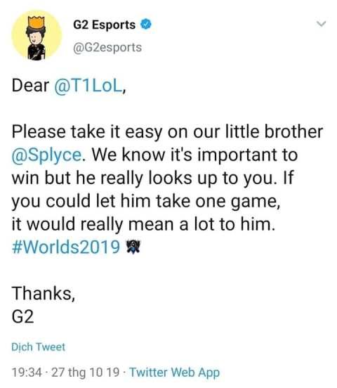 Dòng trạng thái của G2