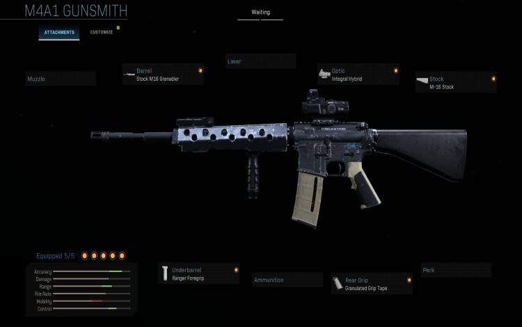 Bắn tỉa chiến thuật với M4A1: